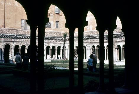 Kirche San Paolo fuori le Mura: Kreuzgang (1981)