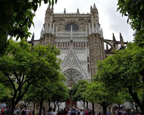Kathedrale: Orangenportal (2018))