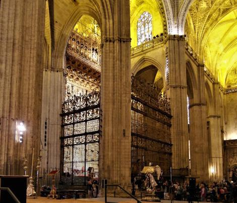 Kathedrale: Hauptkapelle [Capilla Mayor] (2018)