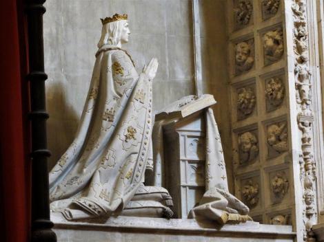 Kathedrale: Grabmal Alfons X., des Weisen, in der Königlichen Kapelle [Capilla Real] (2018)
