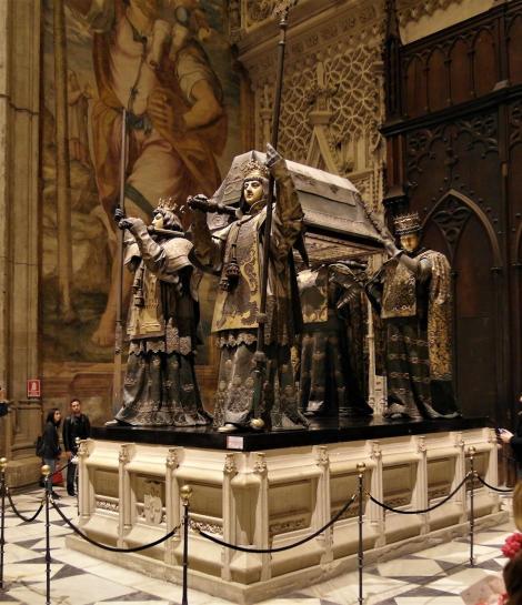 Kathedrale: Kolumbus-Grabmal (2018)
