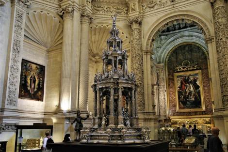 Kathedrale: Prozessionsmonstranz in der Hauptsakristei (2018)