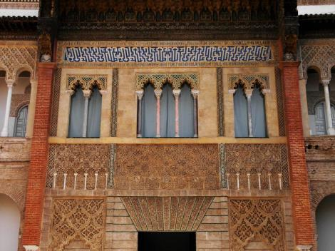 Alcazar: Palast Peters I., des Grausamen - Fassade (2018)