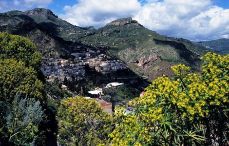 Taormina: Blick vom griechischen Theater (1999)