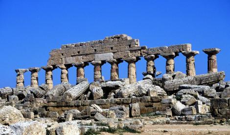 Selinunt: Akropolis - Tempel C (1999)