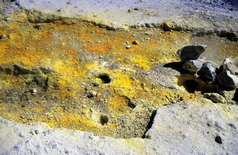 Vulcano: Fumarole am Großen Krater [Fossa] (1999)