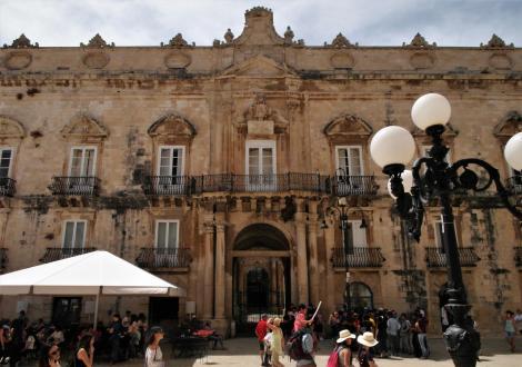 Syrakus: Palazzo Beneventano del Bosco am Domplatz (2018)