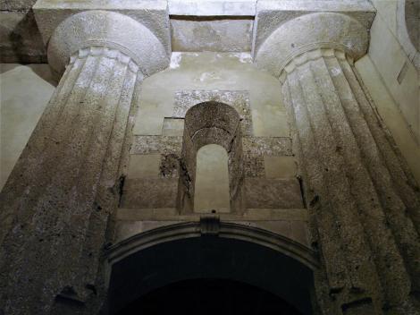 Syrakus: Dom - Säulen des Tempels (2018)