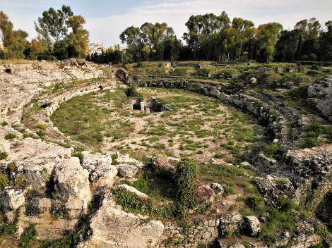 Syrakus: Römisches Amphitheater (2018)