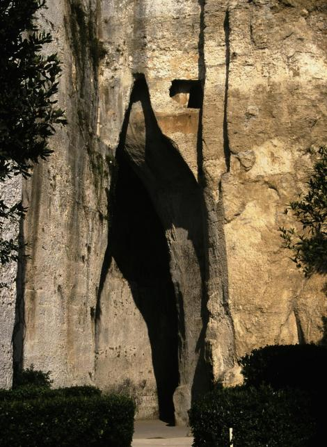 Syrakus: Latomien - Ohr des Dionysios (1999)