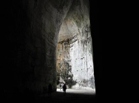 Syrakus: Latomien - Ohr des Dionysios (2018)