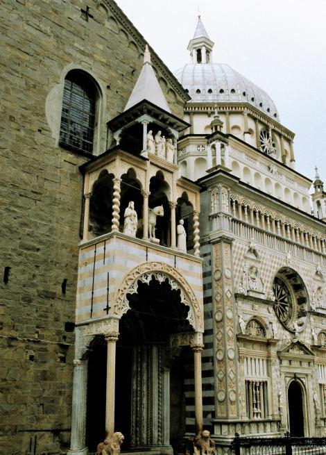 Bergamo: Kirche Santa Maria Maggiore mit Cappella Colleoni (2002)