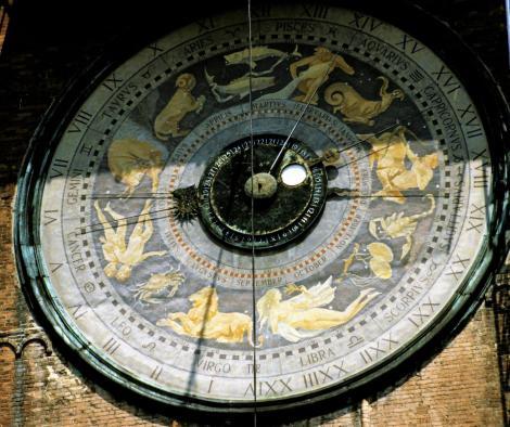Cremona: Torrazzo - astronomische Uhr (2002)