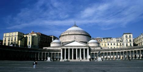Neapel: Kirche San Francesco di Paola (2000)