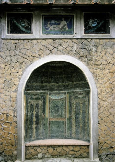 Herculaneum: Casa dello Scheletro - Nymphäum (2000)