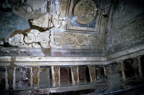Pompeji: Thermen des Forums - Tepidarium (2000)