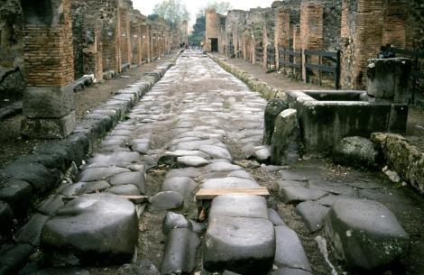 Pompeji: Straße und Brunnen (2000)