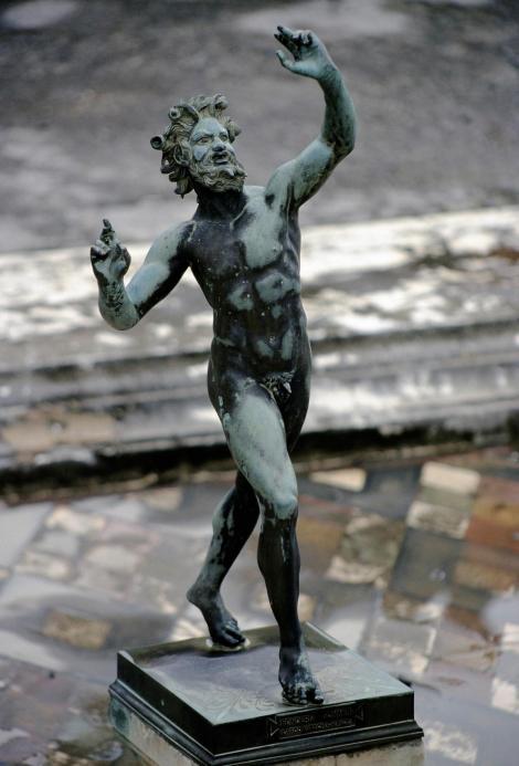 Pompeji: Haus des Fauns - Statue des Fauns (2000)