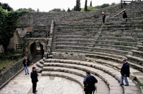 Pompeji: Odeion [kleines Theater] (2000)