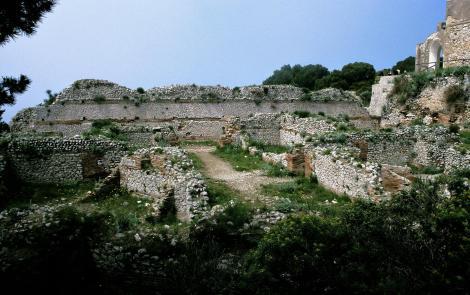 Capri: Villa Jovis [Palast von Kaiser Tiberius] (2000)