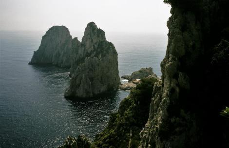 Capri: Faraglioni-Felsen (2000)