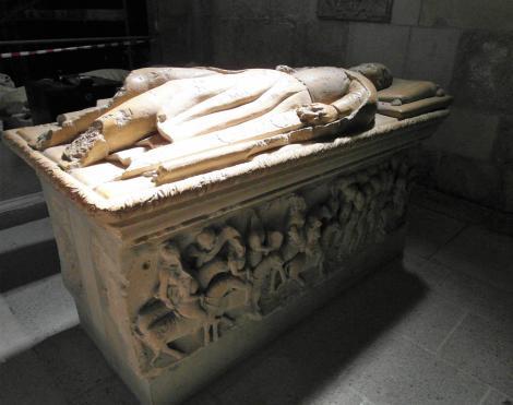 Karlsburg: Kathedrale - Grabtumba von Johannes Hunyadi (2018)