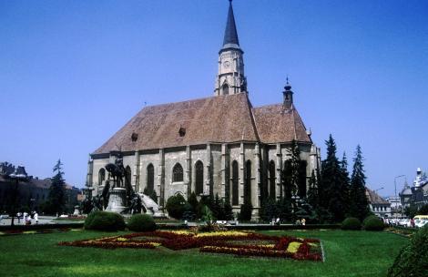 Klausenburg: Michaelskirche (1991)