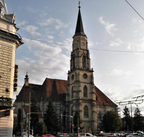 Klausenburg: Michaelskirche (2018)