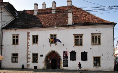 Klausenburg: Geburtshaus von König Matthias Corvinus (2018)