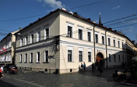 Klausenburg: Geburtshaus von Stephan Bocskai [heute Sapientia-Universität] (2018)