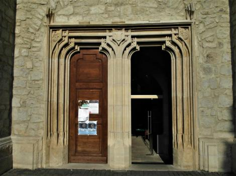 Klausenburg: Reformierte Kirche - Portal (2018)