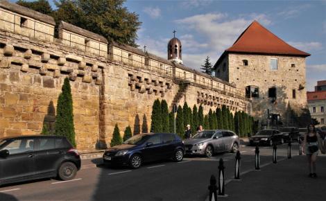 Klausenburg: Stadtmauer und Schneiderbastei (2018)
