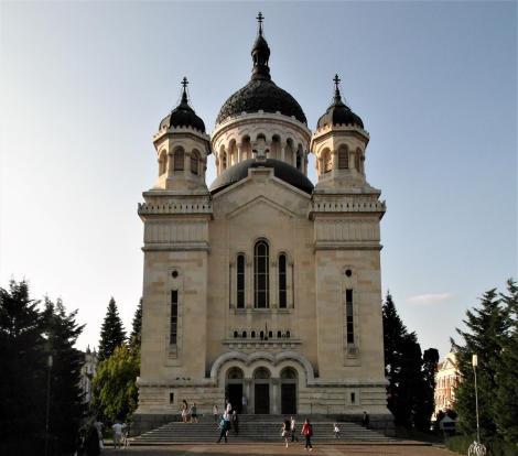 Klausenburg: Rumänisch-orthodoxe Kathedrale auf dem Siegesplatz (2018)