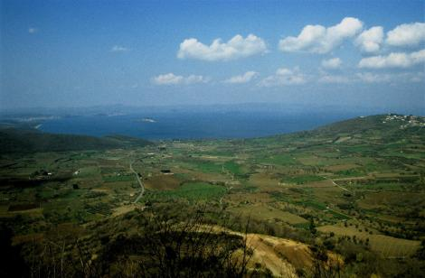 Bolsenasee [Blick von Montefiascone] (2002)