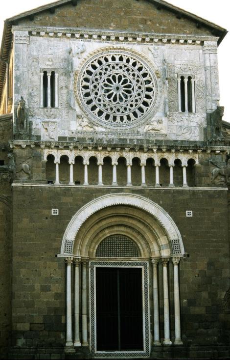 Tuscania: Kirche San Pietro (2002)