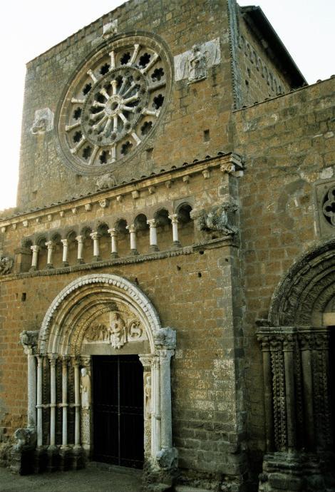 Tuscania: Kirche Santa Maria Maggiore (2002)