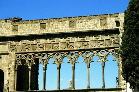 Viterbo: Papstpalast - Loggia (2002)