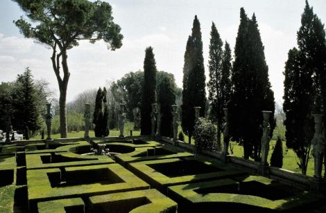 Caprarola: Park des Palazzo Farnese (2002)