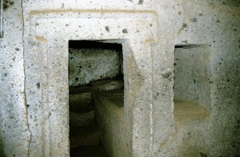 Cerveteri: Banditaccia-Nekropole - Tomba dei Capitelli (2002)