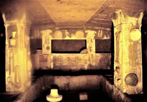 Cerveteri: Banditaccia-Nekropole - Tomba dei Rilievi (2002)