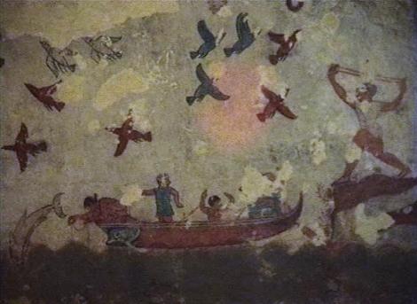 Tarquinia: Nekropole - Grab der Jagd und des Fischfangs [Tomba Caccia e Pesca] (2002)