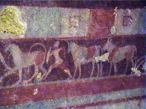 Tarquinia Nekropole - Grab des Jägers [Tomba del Cacciatore] (2002)