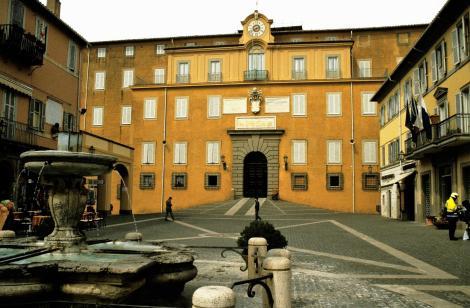 Castel Gandolfo: Papstpalast (2002)
