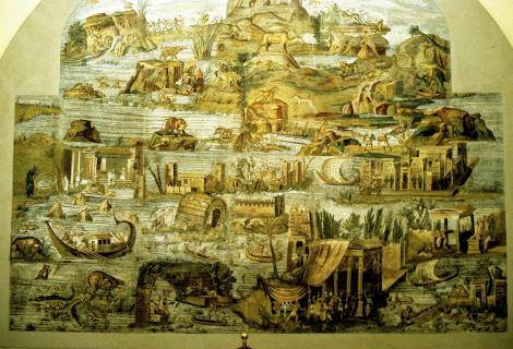 Palaestrina: Archäologisches Museum - Nilmosaik (2002)