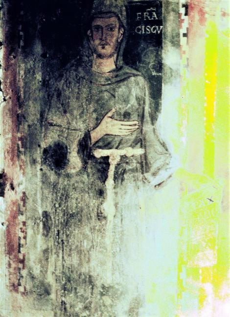 Subiaco: Sacro Speco - Franziskus (2002)