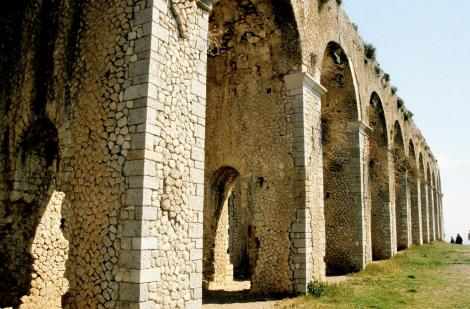 Terracina: Tempel des Jupiter Anxur - Substruktion (2002)
