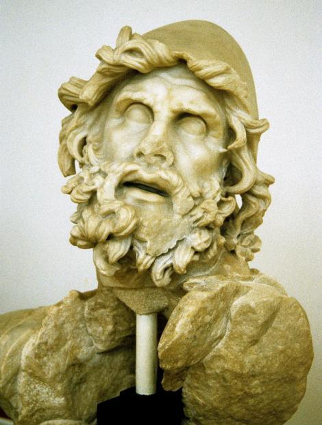 Sperlonga: Archäologisches Museum - Kopf des Odysseus (2002)
