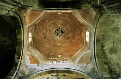 Pavia: Kirche San Michele - Vierungskuppel (2002)