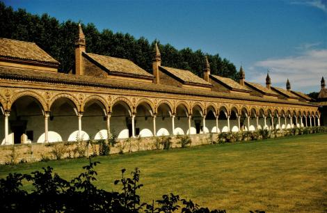 Pavia: Kartause -Großer Kreuzgang (2002)