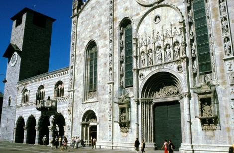 Como: Torre communale - Broletto - Dom (2002)